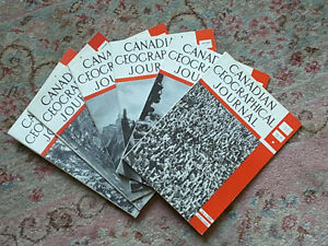 CANADIAN GEOGRAPHICAL JOURNAL ~ Vol. XV No. 1-6 ~ July to Dec. 1