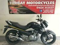 SUZUKI INAZUMA GW 250 L3 IN BLACK 2013 13 REG 19289 MILES PERFECT COMMUTER