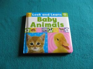 Baby Animals Look and Learn