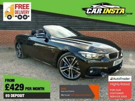 image for 2018 BMW 4 Series 3.0 430d M Sport Auto (s/s) 2dr Convertible Diesel Automatic