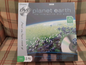 BBC PLANET EARTH DVD GAME: NEVER BEEN OPENED
