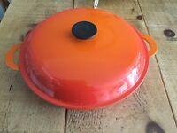 Le creuset 30cm shallow casserole dish