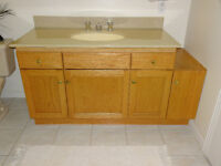 Bathroom vanity 48""