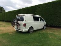 T5 Camper van with pop top roof and full conversion