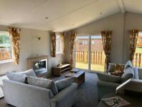 Twin Unit For Sale Lodge Log Cabin Near Milnthorpe Lake District Carnforth