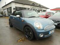 2010 MINI Convertible ONE 1.6 Pepper Pack Convertible Service History 72000 m Co