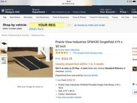"""BRAND NEW MOBILITY RAMP 60""""X30"""" (CAN DELIVER)"""