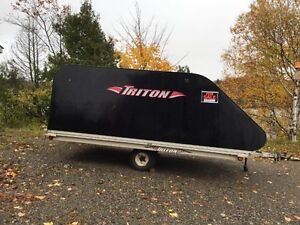 Triton Snowmachine Trailer for Sale