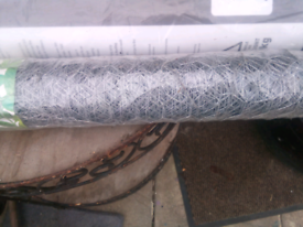 New Roll of netting wire.