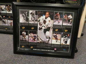 Bobby Hull - Framed collectable Kitchener / Waterloo Kitchener Area image 1