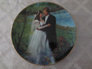 Wedding Collector Plate - From this Day Forward