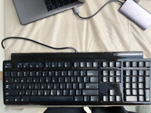 Matias Quiet Pro Full Size Keyboard for PC - Black