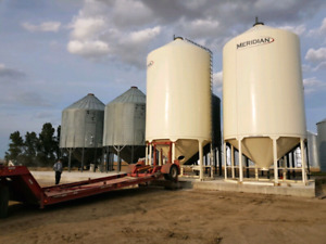 Grain Bin Hauling and Pilot Service