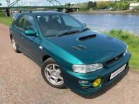 2001 51 SUBARU IMPREZA 2.0 TURBO 2000 AWD 5D 211 BHP