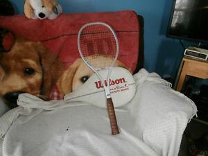 Raquette de tennis marque Wilson