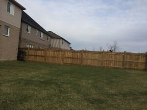 Fences! Post holes! Get a great fence for a great price!! Kitchener / Waterloo Kitchener Area image 2