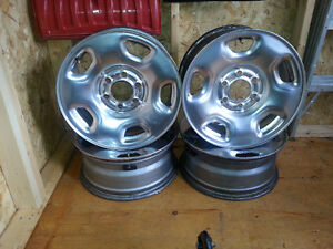 "Ford 17"" steel rims"