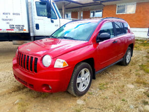 2008 Jeep Compass 2 & 4×4 wheels Drive very clean