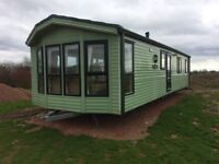 Willerby static Caravan 38x12, 3 bedrooms on quite country site Northumberland.