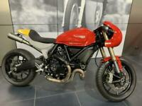 Ducati Scrambler 1100 Debolex Custom cafe racer one off build show bike