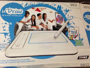 Wii draw. Like new. NIB plus other games