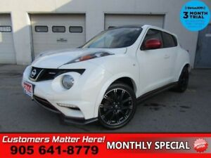 2014 Nissan Juke NISMO  MANUAL NAVIGATION ALLOYS