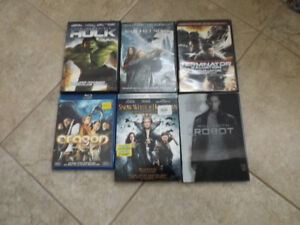 Variety of Blu Ray Discs for Sale - $4.00 per Bluray - Lot of 25