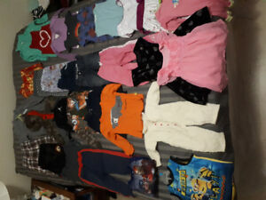 Assorted boys and girls baby/toddler/children clothing