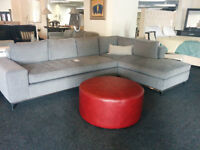 SALE Sectional Sofa Couch Gray Made to Order Brand New TVCenter