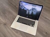 """(Sold)MacBook Pro 15"""" Retina 2.3Ghz i7 Retina 16gb ram 256gb SSD Hdd"""