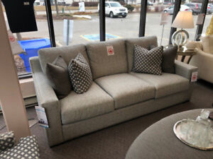 Fabric Sofa with Feather fill - Floor Model -Never Used