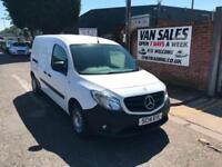 Mercedes-Benz Citan 1.5CDI Long 109 White manual diesel van