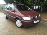 2003 Vauxhall Zafira 1.6 Design 93k