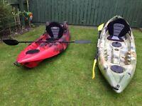 2 Fishing / leisure Kayaks