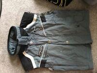 Spyder Retro sleeveless ski jacket