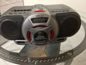 Sony Boombox Woofer - Cassette, CD Player ,FM AM Stereo Radio