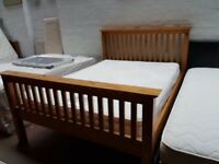 Pune double bed frame with mattress only £ 120