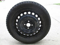 4 Yokohama IceGuard Tires and Rims