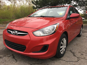 "2013 Hyundai Accent GL 6 Speed ""12 Month Warranty Included"""