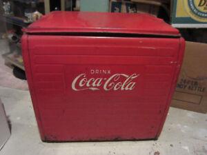 Vintage Coca Cola Cooler 1950's