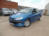 PEUGEOT 206 ENTICE 1.4 PETROL LOW MILES 5 DOOR HATCHBACK