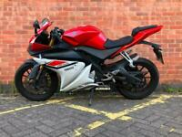 2015 YAMAHA YZF R125 ABS LEARNER LEGAL,-DELIVERY AVAILABLE 12 MONTHS MOT