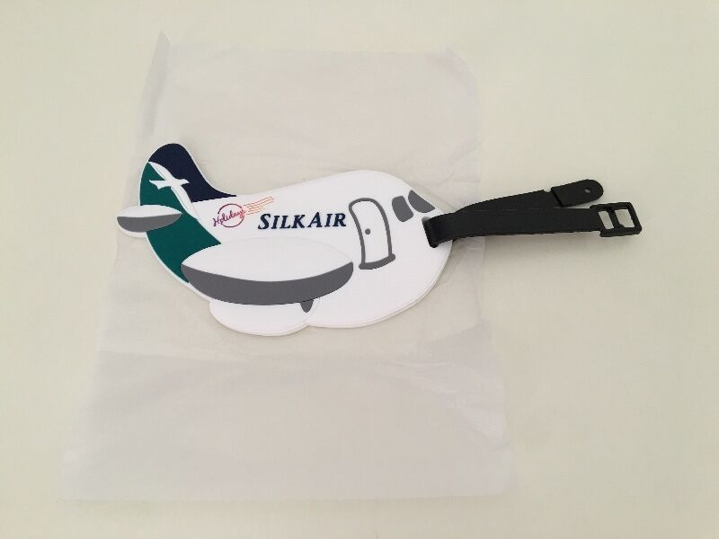 SilkAir luggage tag
