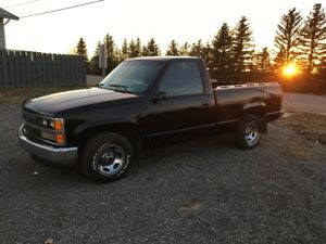 1989 Chev short box reg cab 2wd