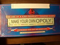 Make your Own Opoly- The one of Kind Property Trading Game???
