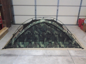 U.S. Military One Man Combat Tent (Woodland Camo) New/Old Stock