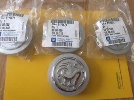 Vauxhall Genuine Alloy Wheel Centre Caps