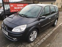 2008 RENAULT GRAND SCENIC AUTOMATIC, 1 YEAR MOT, WARRANTY NOT ZAFIRA MAZDA 5