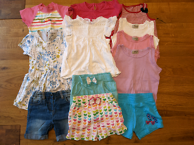 Girls Summer Clothes Bundle Age 2-3