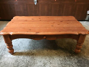 Coffee table & 3 end tables